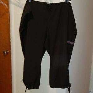 Champion cropped workout pants XL